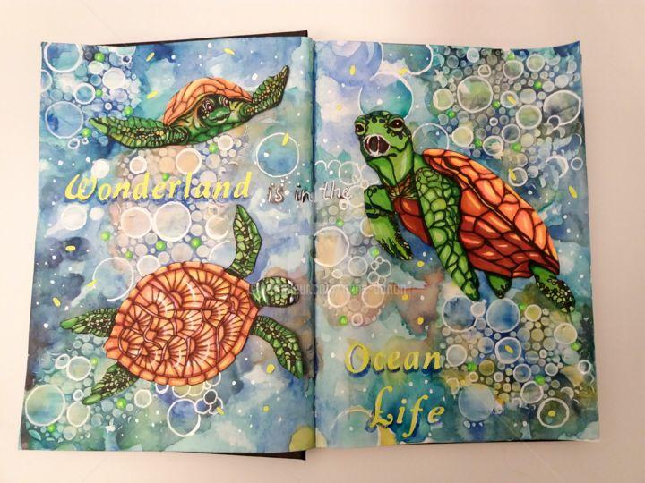 Anne d'Orion - Wonderland is in the ocean life