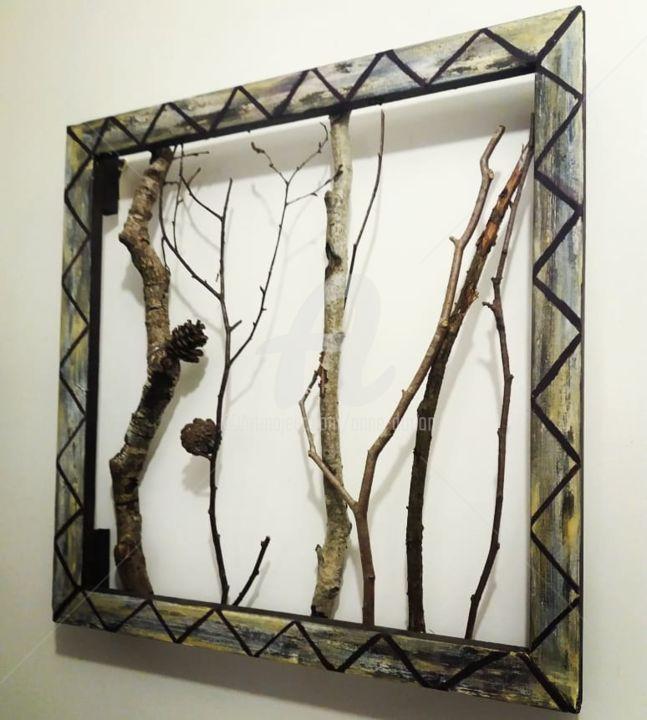Anne d'Orion - Wooden nature art