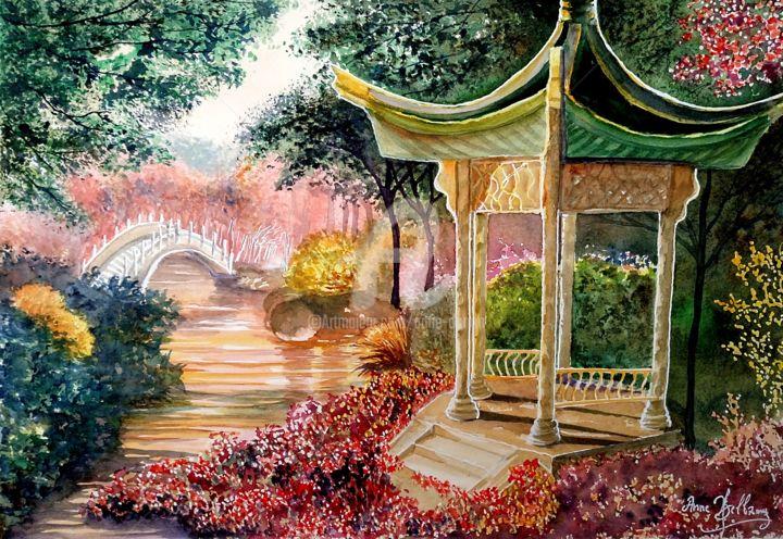 Anne d'Orion - Temple aux fleurs